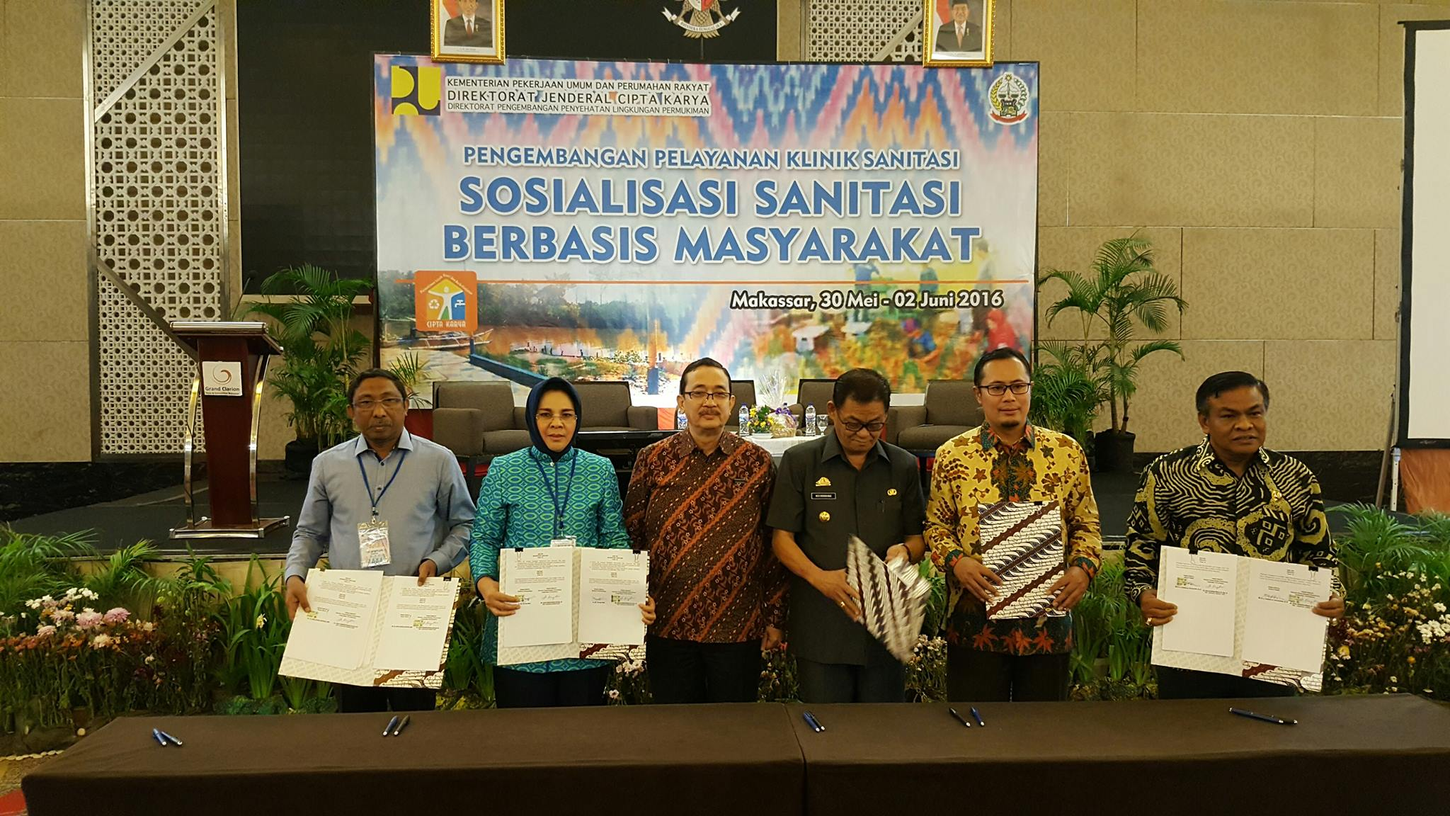 Walikota Tandatangani Kerjasama Sanitasi Berbasis Masyarakat