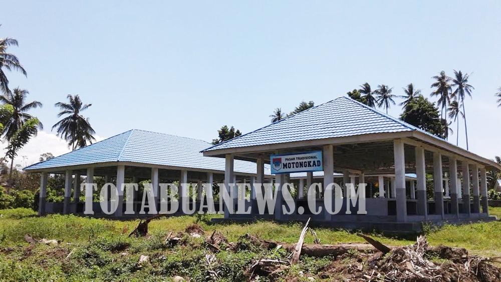 Pembangunan Tiga Pasar di Boltim Mubasir