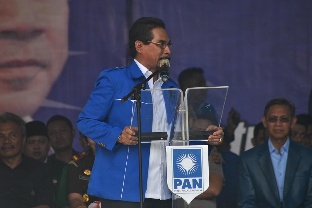 Seluruh Kader PAN Kotamobagu Dukung Sehan Landjar Maju di Pilwako