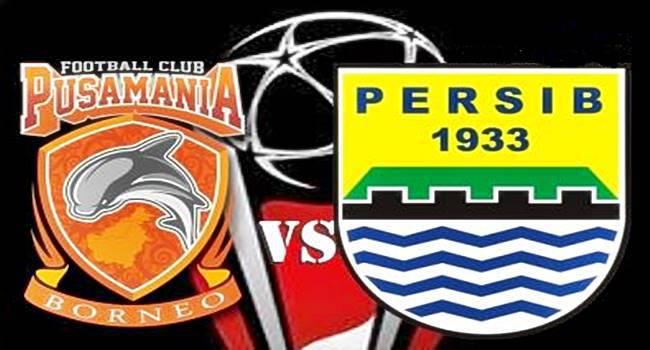 Live Streaming Persib Bandung Vs Pusamania Borneo FC, Jadwal Semifinal Piala Presiden 2017