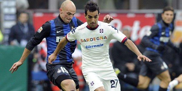 Hasil Sementara, Live Streaming Cagliari vs Inter Milan