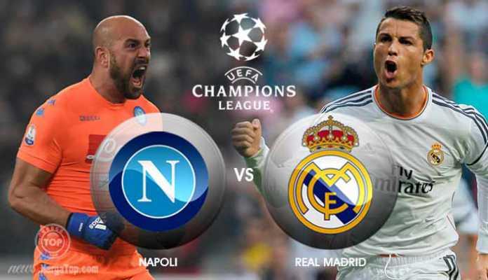 Liga Champions: Live Streaming Napoli vs Real Madrid, Prediksi & Line Up
