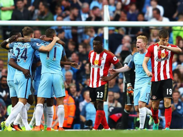 Liga Inggris: Live Streaming Sunderland Vs Manchester City