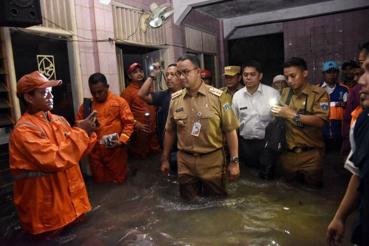 Jakarta Banjir, Anies Perintahkan Jajaran Pemprov DKI ...